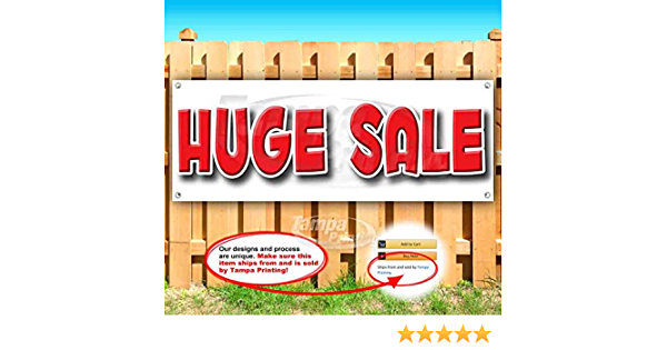 Non-Fabric Heavy-Duty Vinyl Single-Sided with Metal Grommets Black Friday Sale 13 oz Banner