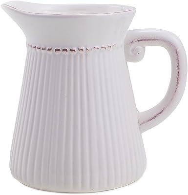 Amazon Hosley Cream Ceramic Pitchervase 10 High For