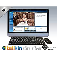 Telikin Elite II - 22 Touchscreen Computer - Black