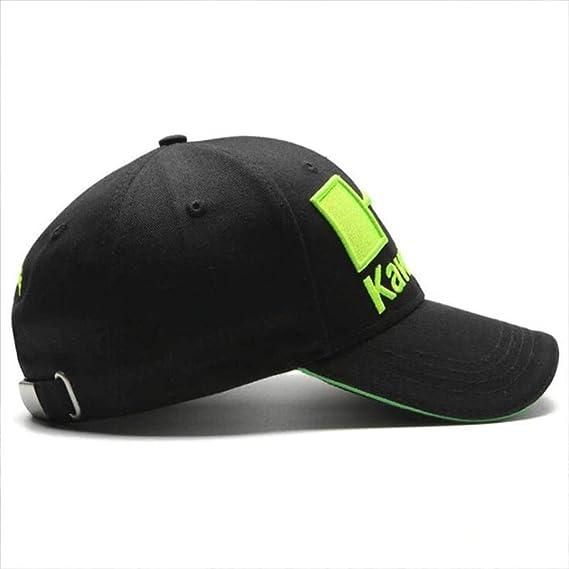 Amazon.com: Kawasaki - Racing Embroideried Kawasaki Cap Hat MotoGP Baseball Cap dad hat Bone Casquette Kawasaki hat gp Accessories Moto gp hat Kawasaki Hats ...