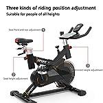 Spin-Bike-Professionale-Cyclette-Aerobico-Home-Trainer-Altoparlante-Bluetooth-Intelligente-Staffa-Multifunzionale-Display-Elettronico-Rilevazione-Della-Frequenza-Cardiaca-Volano-Silenzioso