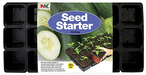 NK Lawn & Garden 18-Pot Seed Starter -