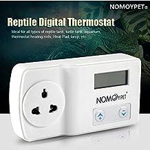 Bazaar NOMOY 220-240V Reptile Digital Thermostat Heat Pad Mat Lamp Terrarium Temperature Controller