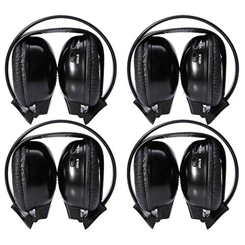 Universal Entertainment Infrared Headphones Listening