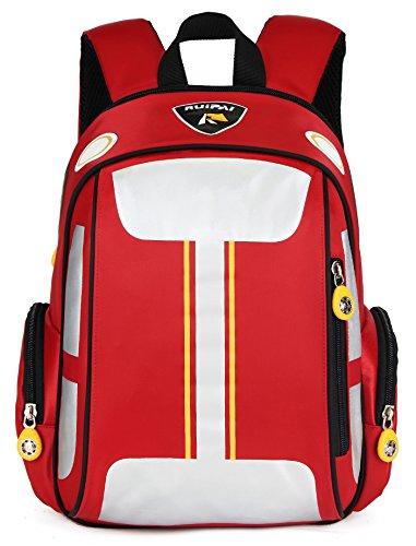 ArcEnCiel Toddler Kids Backpack Cartoon Car for Boys Preschool Kindergarten...