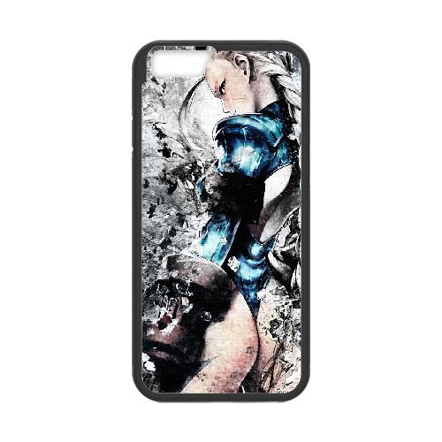 Street Fighter 4 coque iPhone 6 4.7 Inch cellulaire cas coque de téléphone cas téléphone cellulaire noir couvercle EEECBCAAN02342