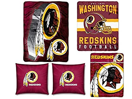 Amazon The Northwest Company NFL Washington Redskins 40pc Cool Nfl Blankets And Throws