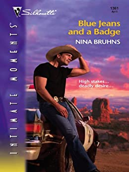 Blue Jeans and a Badge (The Warriors Book 3) by [Bruhns, Nina]