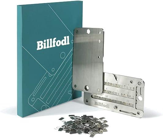 The Billfodl Backup Von Hardware Wallets Aus Rostfreiem Edelstahl Für Bitcoin Ethereum Und Andere Kryptowährungen Küche Haushalt