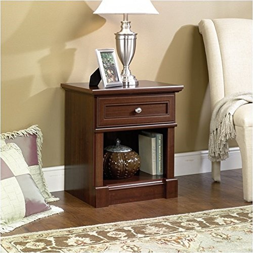 Compare prices on sauder county line side table big for Night stand cost