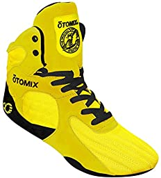 Otomix Yellow Stingray Escape Weightlifting MMA & Grappling Shoe Men\'s (10.5)