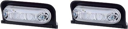 2 X 3 Smd Led Weiß Dachleuchte Begrenzungsleuchte Seitenleuchte 12v 24v Mit E Prüfzeichen Positionsleuchte Auto Lkw Pkw Kfz Lampe Leuchte Licht Front Auto