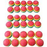 Kondolen ゴルフ 練習用 ウレタンボール30個セット ゴルフ