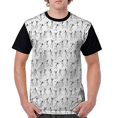 BlountDecor Casual Short Sleeve Graphic Tee Shirts,Cartoon Pattern Halloween Fashion Personality Customization