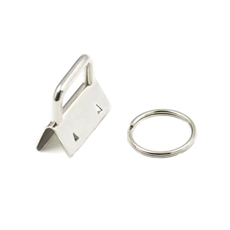 Key Fob Hardware Wristlet Set Wrist Key Chain Wristlet Sets with Split 50 Sets