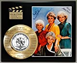 #4: GOLDEN GIRLS LIMITED EDITION SIGNATURE AND LASER ETCHED THEME SONG LYRICS DISPLAY