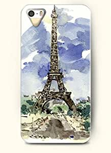 OOFIT Phone Case Design with Watercolor - Eiffel Tower for Apple iPhone 4 4s 4g by supermalls