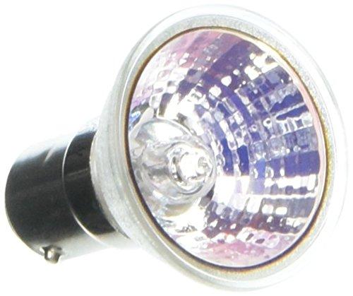 Ushio BC6344 1000659-35W Light Bulb - GDZ Flood - DC Bayonet Base - Open Face - 2,000 Life Hours - 1,600 Candlepower - 12V