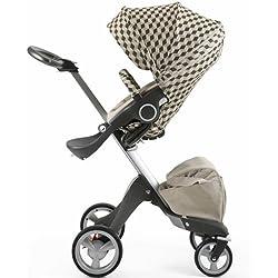 Stokke Stroller Seat Style Kit - Beige Cube