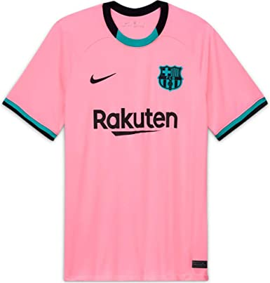 amazon com nike fc barcelona third men s stadium soccer jersey 2020 21 sports outdoors amazon com