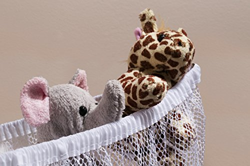 Large Product Image of Jumbo Toy Hammock -2PACK- Organize stuffed animals or children's toys with this mesh hammock. Looks great with any décor while neatly organizing kid's toys and stuffed animals. Expands to 5.5 feet.
