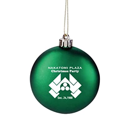 Amazon.com : GREEN Nakatomi Plaza Die Hard Movie Prop Holiday Party  Christmas Tree Ornament Limited Edition : Everything Else - Amazon.com : GREEN Nakatomi Plaza Die Hard Movie Prop Holiday Party
