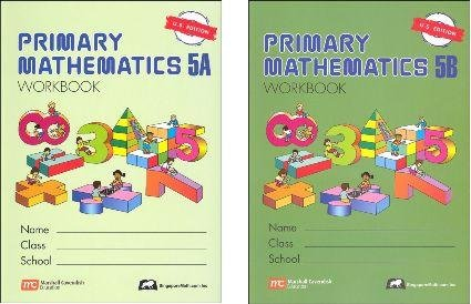 Which are the best primary mathematics 5a standards edition available in 2019?