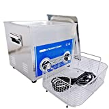 limplus 10liter Professional Ultrasonic Cleaner with Timer Heater Made of Stainless Steel