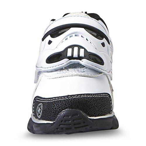 Star Wars Kinder Jungen Turnschuhe Blink Licht Schuhe Stormtrooper (EU 30 = US 12)