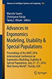 Advances in Ergonomics Modeling, Usability & Special Populations: Proceedings of the AHFE 2016 International Conference on Ergonomics Modeling, ... in Intelligent Systems and Computing)