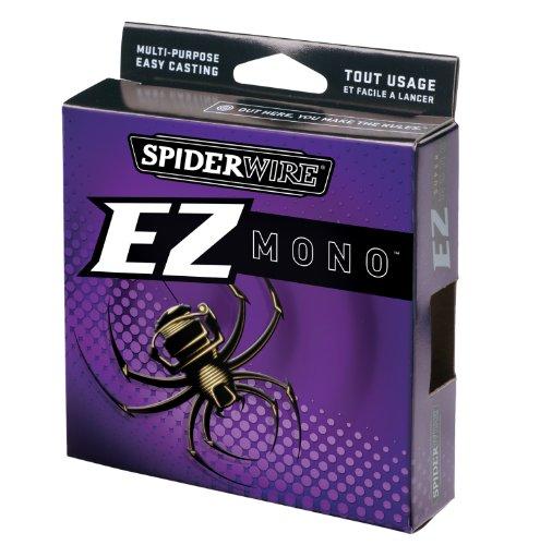 Spiderwire EZ Mono 220-Yard Spool (Lo-Vis Green, Pound Test 12), Outdoor Stuffs