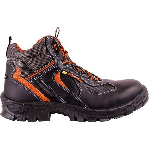 Cofra Yule S3 Esd SRC Chaussures de sécurité Taille 38 Noir