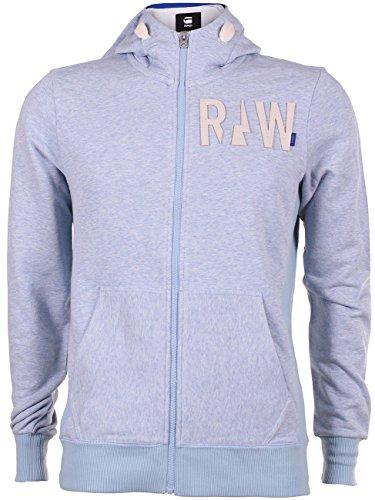 G-Star Herren Kapuzen Sweater Netrol Hooded Vest, Größe:XL;Farbe:Sea Heather (1099)