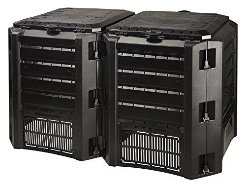 Prosper Plast iksm800 C-s411 135 x 71.9 x 82.6 cm modulo  Compoverde Composter – nero (pezzi)