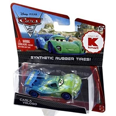 Disney / Pixar CARS 2 Movie Exclusive 155 Die Cast Car with Synthetic Rubber Tires Carla Veloso: Toys & Games