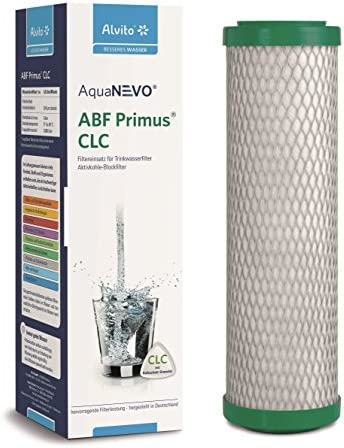 Alvito AquaNEVO Blockfilter ABF Primus CLC Filtereinsatz mit Kalkschutz