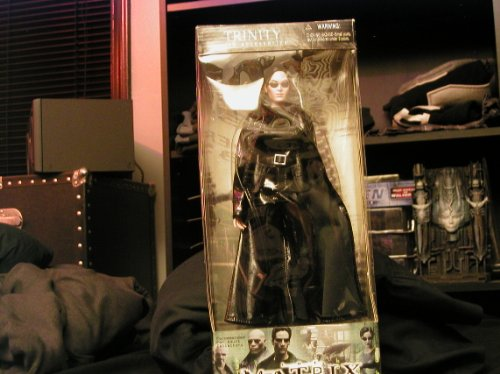 trinity trenchcoat action figure