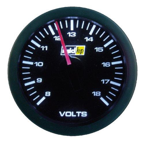 Raid HP 660179 Sport Series Auxiliary Volt Meter Gauge: