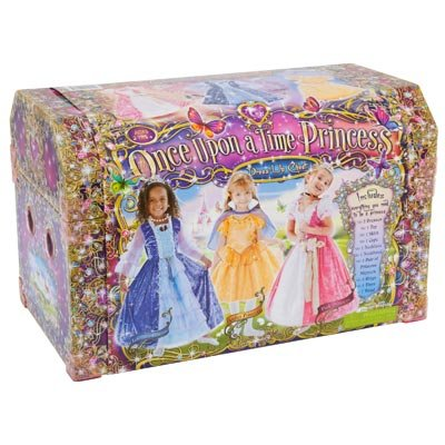 Girls Princess Wonderland Dress Up Chest - With Everything You Need To Create Three Beautiful ...