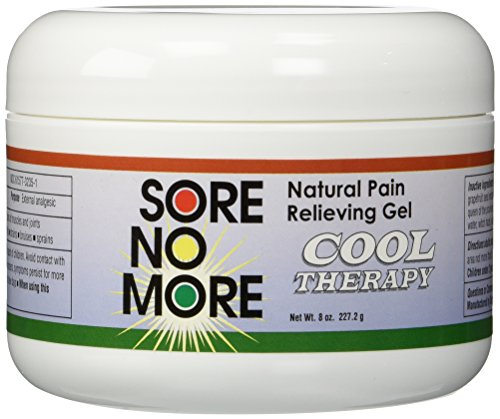 Sore Gel - Sore No More Natural Pain Relieving Gel - 8 oz Cool
