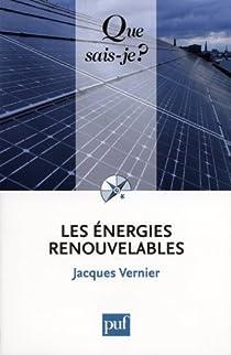 Les énergies renouvelables par Vernier