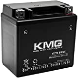 KMG YTZ7S Battery For Honda 50 NPS50 Ruckus 2003-2014 Sealed Maintenace Free 12V Battery High Performance SMF Replacement Maintenance Free Powersport Motorcycle ATV Scooter Snowmobile Watercraft KMG