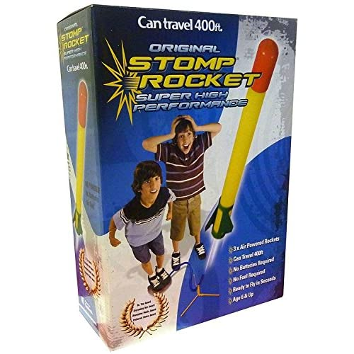 Super Stomp Rocket Kit With Refill Accessory 3 Pack by Stomp Rocket
