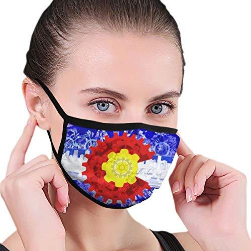 Modern Colorado Flag Gear Mountain Cycling City Skateboard Unisex Fall Winter Breathing Mask Dust-Proof Windproof City Cycling Mouth Face Mask