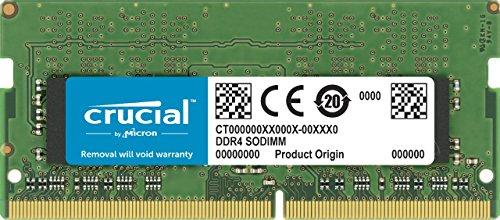 Crucial-4GB-Single-DDR4-2400-MTS-PC4-19200-SR-x8-Unbuffered-SODIMM-260-Pin-Memory---CT4G4SFS824A