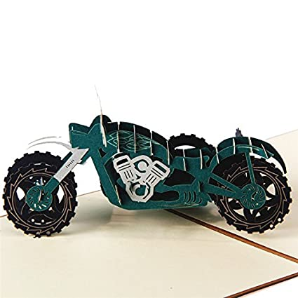 Amazon hunger handmade 3d pop up harley davidson motorcycle hunger handmade 3d pop up harley davidson motorcycle birthday cards creative greeting cards papercraft m4hsunfo