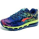 Lianjin Men's AIR Cushion Colorful Casual Running Shoes