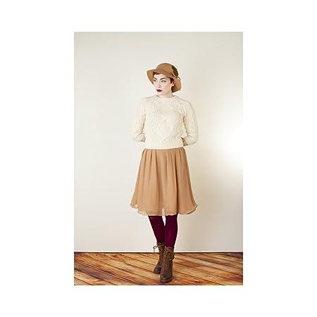 Colette Zinnia Skirt Sewing Pattern UK Sizes 2 - 20: Amazon.co.uk ...