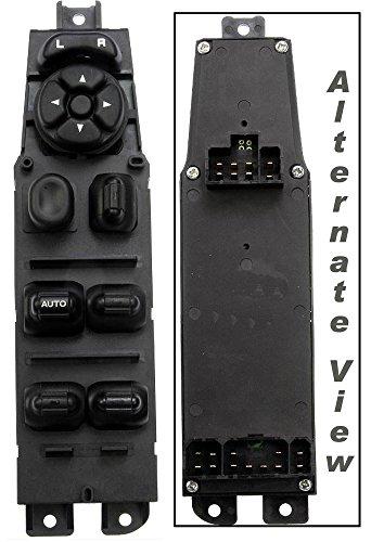 APDTY 012559 Power Window Master Switch w/ Door Lock Unlock & Mirror Adjust Front Left 01-03 Durango 05-08 Dodge Ram 1500 05-09 2500 4-Door Pickup 05-09 Sprinter Van 2500 3500 (68171680AA, 56049805AB)