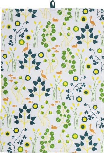 Sagaform Print Collection Kitchen Towel, Garden Series
